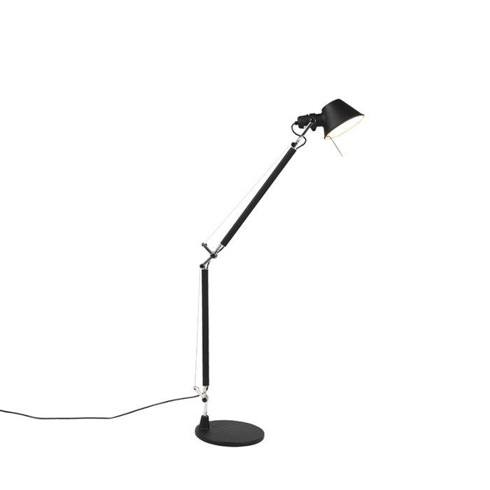 Artemide-Tolomeo-Tavolo-tafellamp-zwart