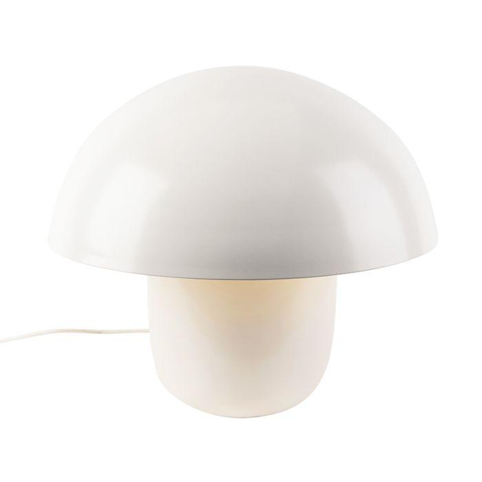 Moderne-ronde-tafellamp-50cm-wit---Canta