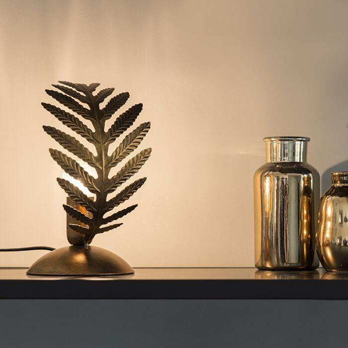 Vintage-tafellamp-small-goud---Botanica
