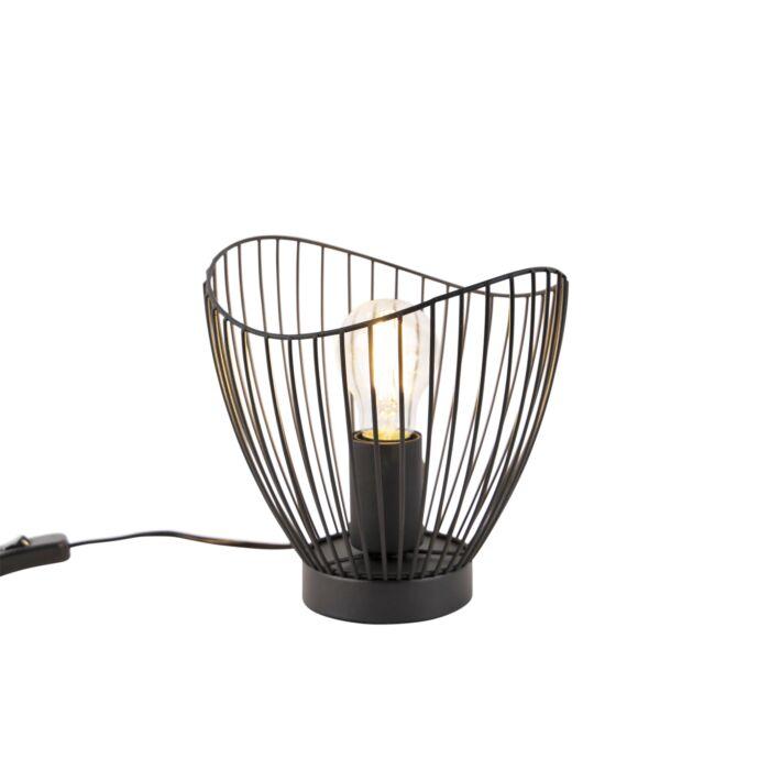 Design-tafellamp-zwart-20-cm---Pua