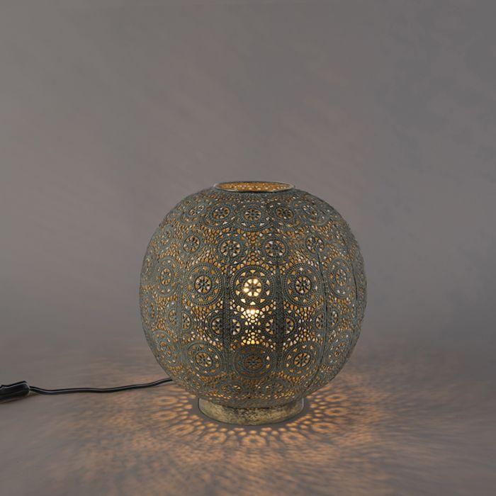 Oosterse-tafellamp-32-cm---Baloo