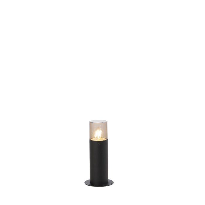 Moderne-staande-buitenlamp-30-cm-zwart---Odense