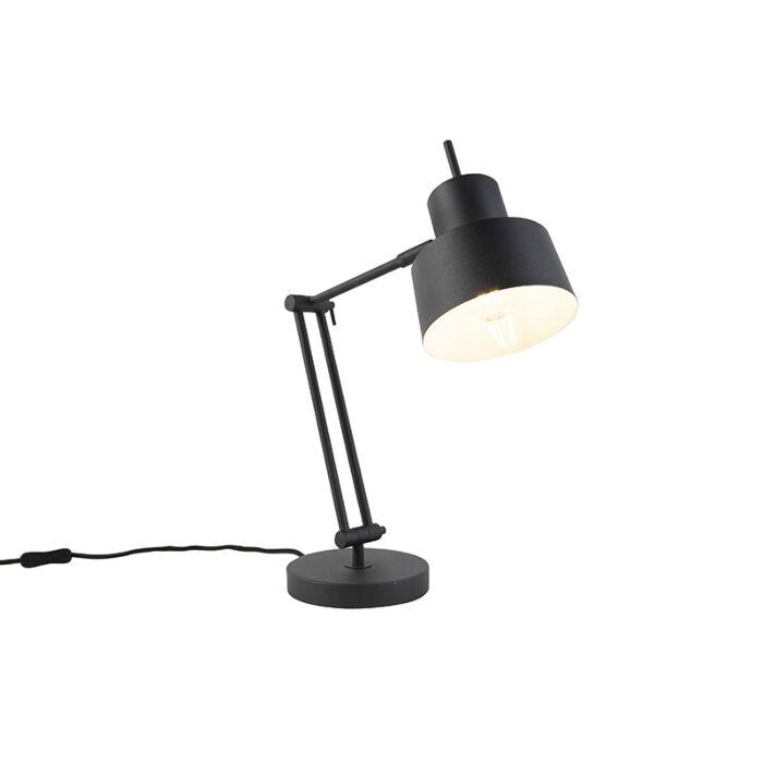 Retro-tafellamp-zwart---Chappie