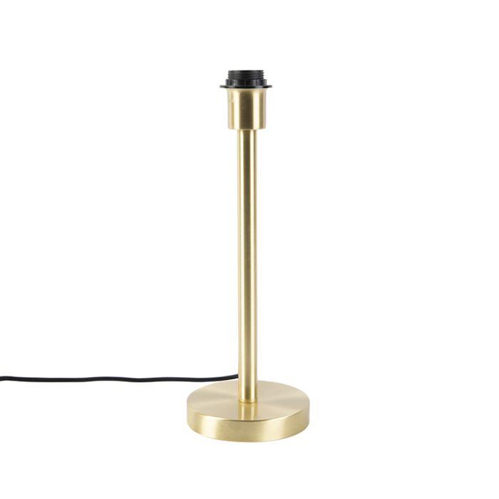 Klassieke-tafellamp-messing-zonder-kap---Simplo
