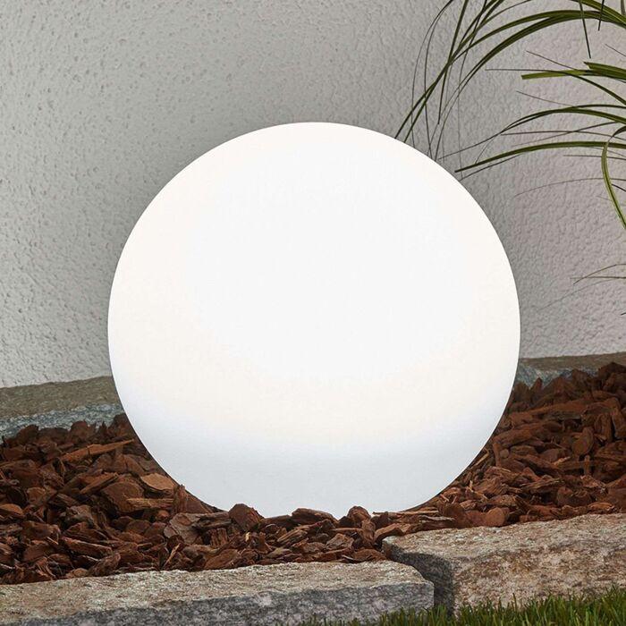 Moderne-buitenlamp-met-grondpin-25-cm-incl.-LED-op-solar-IP44---Lago