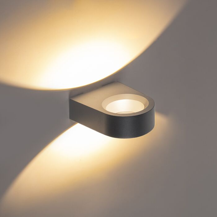 Design-wandlamp-antraciet-incl.-LED---Vasso-uno