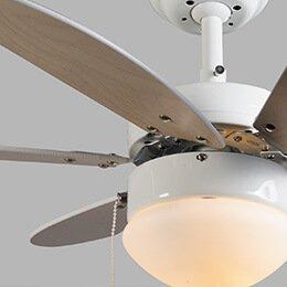 Lampenlicht - Montage instructies plafondventilator